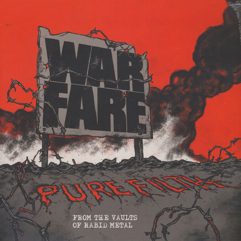 Warfare - Pure Filth: From The Vaults Of Rabid Me Colored Vinyl Edition