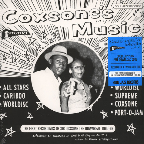 V.A. - Coxone's Music - The First Recordings Of Sir Coxsone: The Downbeat 1960-63 - Part 2