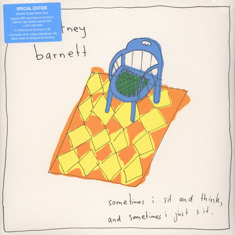 Courtney Barnett - Sometimes I Sit And Think, And Sometimes I Just Sit Yellow Vinyl Edition