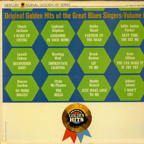 V.A. - Original Golden Hits Of The Great Blues Singers - Volume II