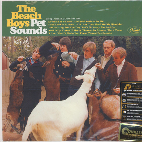Beach Boys, The - Pet Sounds 200g Vinyl, Mono Edition