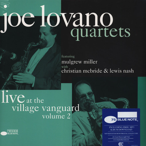 Joe Lovano Quartet - At The Village Vanguard Volume 2