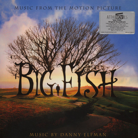 Danny Elfman - OST Big Fish Blue, Black & White Vinyl Edition