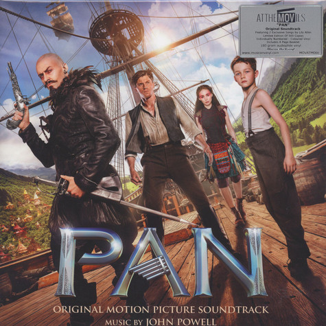 John Powell - OST Pan Green Marbled Vinyl Edition