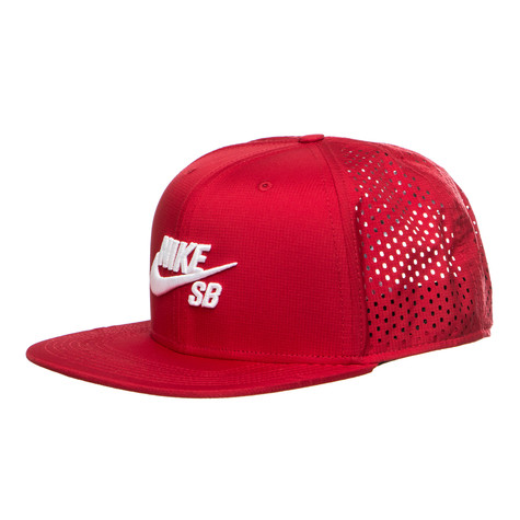 294ff7521ab Nike SB - Performance Snapback Cap (Gym Red   Gym Red   Black ...