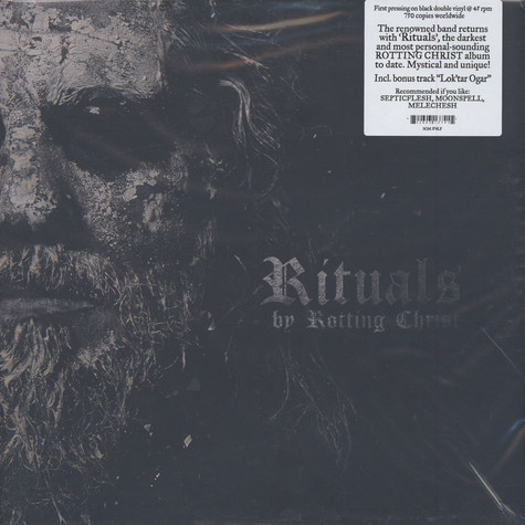 Rotting Christ - Rituals Black Vinyl Edition