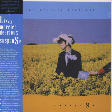 Lizzy Mercier Descloux - Suspense