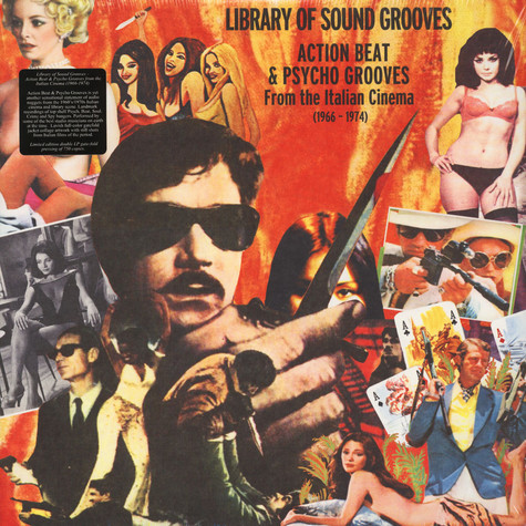 V.A. - Library Of Sound Grooves: Action Beat & Psycho Grooves From The Italian Cinema (1966-1974)