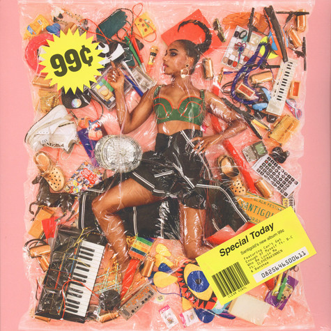 Santigold - 99 Cents Clear Vinyl Edition