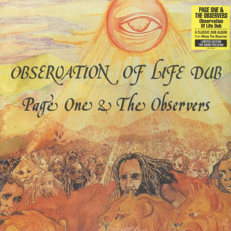 Page One & Observers - Observation Of Life Dub