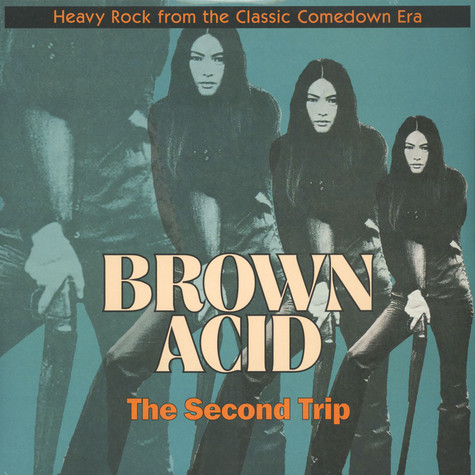 "V.A. - Brown Acid ""The Second Trip"" Black Vinyl Edition"