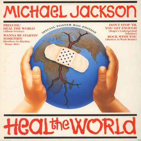 Michael Jackson - Heal The World (Special Poster Bag Edition)
