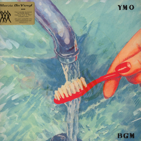 Yellow Magic Orchestra - BGM Black Vinyl Edition