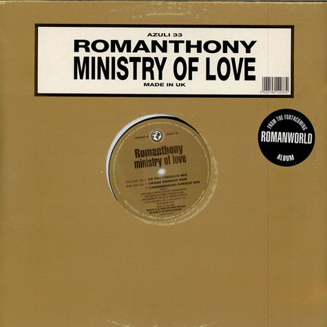 Romanthony - Ministry Of Love