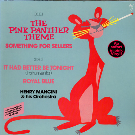 Henry Mancini And His Orchestra - The Pink Panther Theme