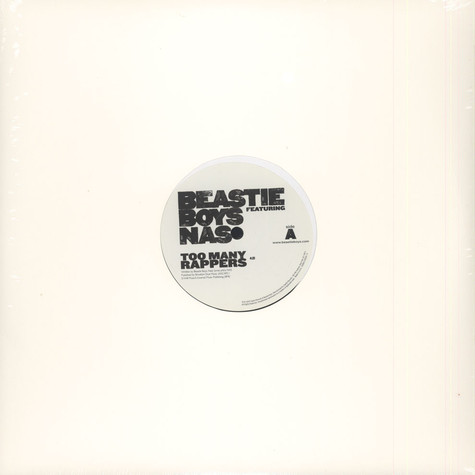 Beastie Boys - Too Many Rappers
