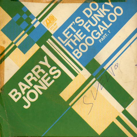 Barry Jones - Let's Do The Funky Boogaloo