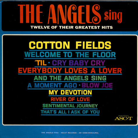 Angels, The - Sing Twelve Of Their Greatest Hits