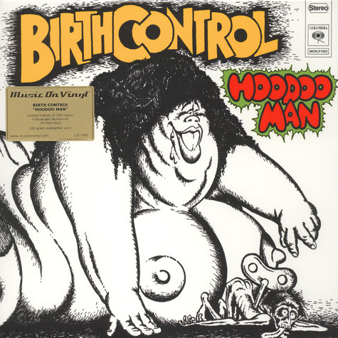 Birth Control - Hoodoo Man Transparent Red Vinyl Edition
