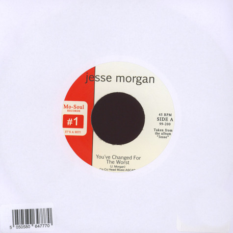 Jesse Morgan - You've Changed For The Worst