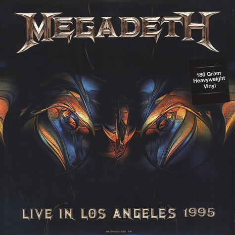 Megadeth - Live At Great Olympic Auditorium In La February 25, 1995 WW1-FM 180g Vinyl Edition