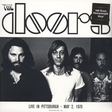 Doors, The - Live In Pittsburgh, May 2 1970 180g Vinyl Edition