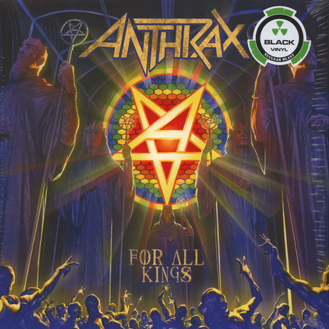 Anthrax - For All Kings Black Vinyl Edition