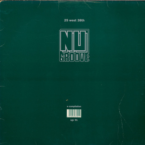 V.A. - Nu Groove  - 25 West 38th - A Compilation