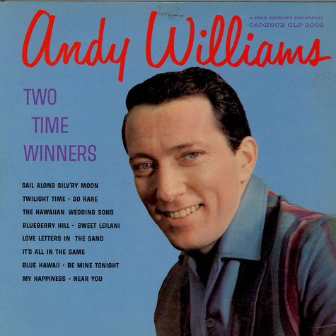 Andy Williams - Two Time Winners