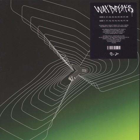 Paradox Music - Wax Breaks Volume 1