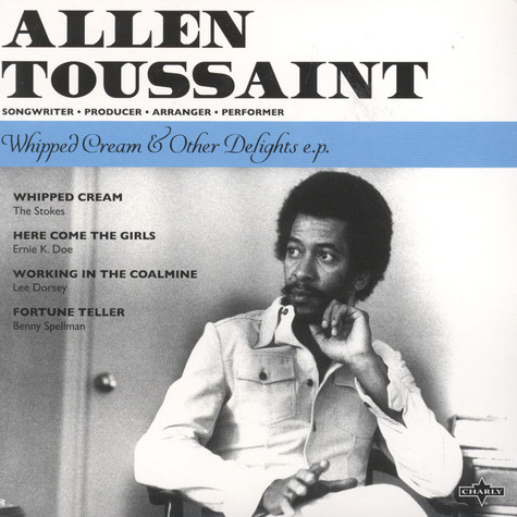 Allen Toussaint - Whipped Cream & Other Delights