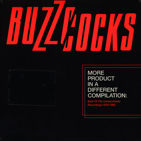 Buzzcocks - More Product In A Different Compilation: Best Of The United Artists Recordings