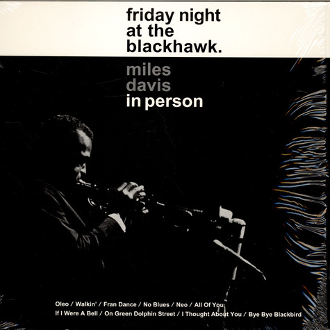 Miles Davis - In Person, Friday Night At The Blackhawk