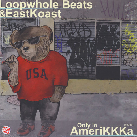 Loopwhole Beats & Eastkoast - Only In AmeriKKKa Black Vinyl Edition