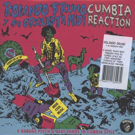 Rolando Bruno Y Su Orquesta Midi - Cumbia Reaction