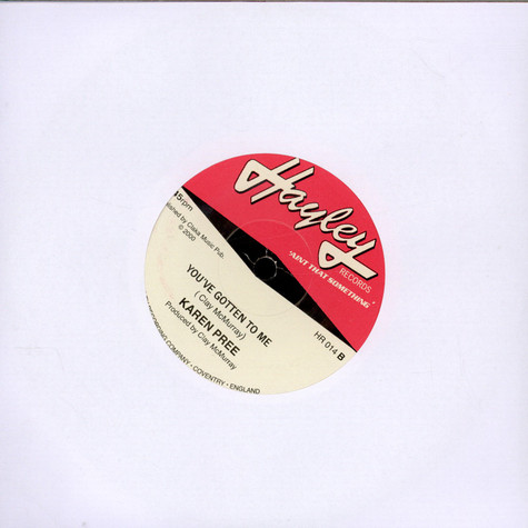 Karen Pree - Can't Help Loving (The One Who's Loving Me) / You've Gotten To Me