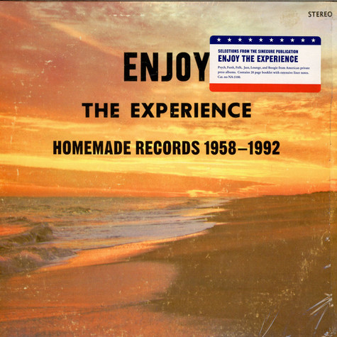 V.A. - Enjoy The Experience - Homemade Records 1958-1992