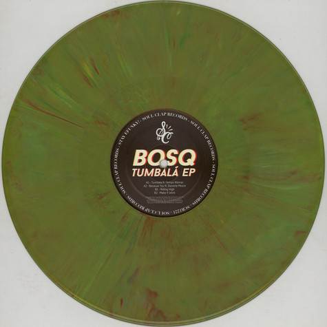 Bosq of Whiskey Barons - Tumbala EP