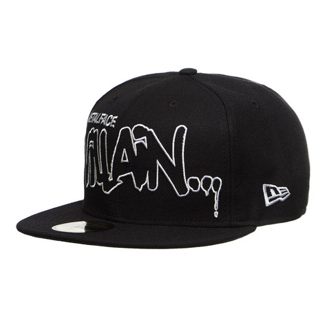 d4ecd07223c MF Doom - Villain 59fifty Fitted Cap (Black)