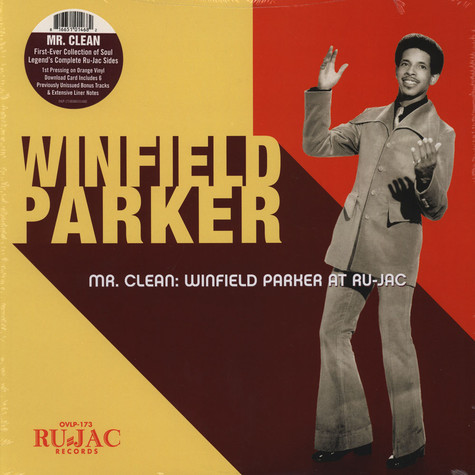 Winfield Parker - Mr Clean: Winfield Parker At Ru-Jac