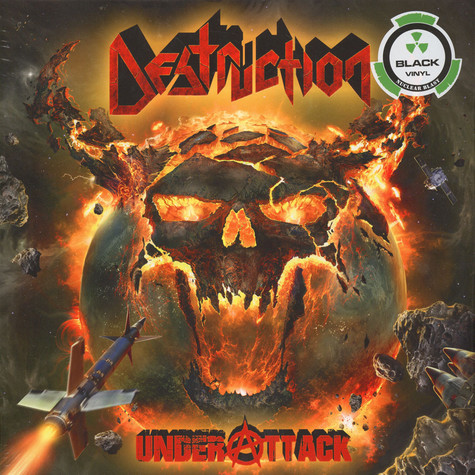 Destruction - Under Attack Black Vinyl Edition