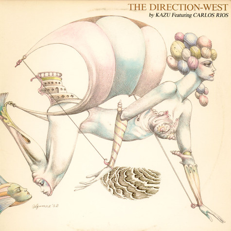 Kazu Matsui Featuring Carlos Rios - The Direction-West