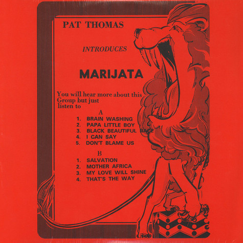 Marijata - Pat Thomas Introduces Marijata