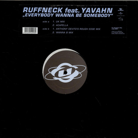Ruffneck - Everybody Wanna Be Somebody