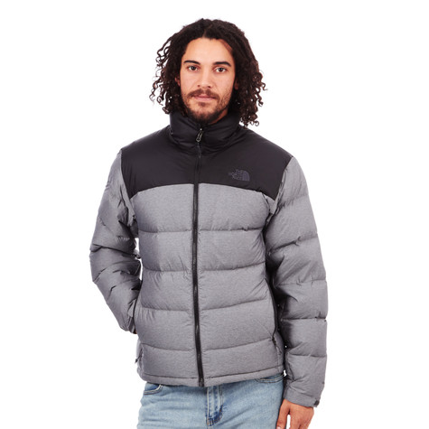 4d23bb8fdd The North Face. Nuptse 2 Jacket (Tnf Medium Grey Heather   Tnf Black)