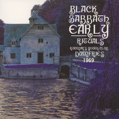 Black Sabbath - Early Rituals: Rugmans Youth Club, Dumfries 1
