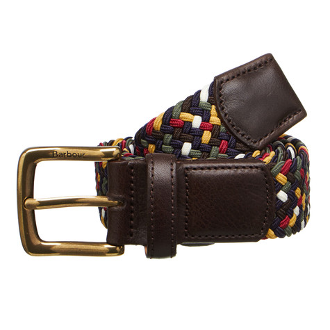 Barbour - Tartan Coloured Stretch Belt