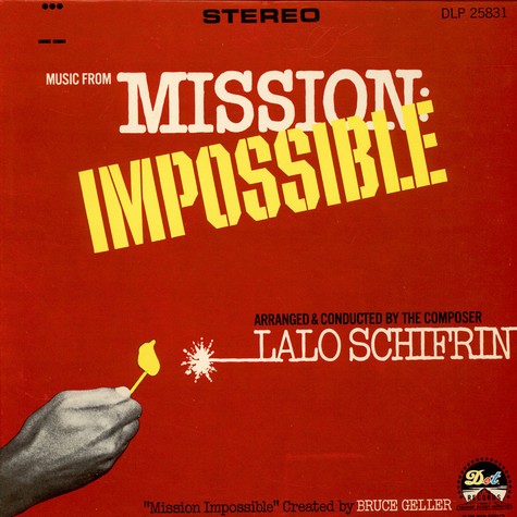 Lalo Schifrin - Music From Mission: Impossible