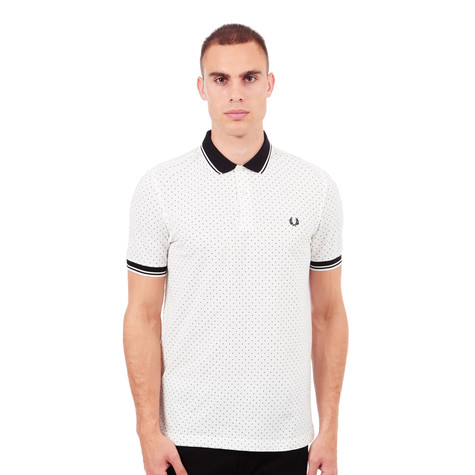 Fred Perry - Polka Dot Pique Polo Shirt