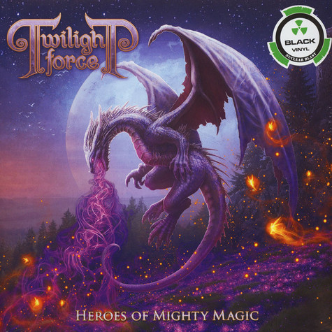 Twilight Force - Heroes Of Mighty Magic Black Vinyl